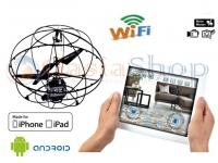I-SPY UFO ELICOTTERO TELECOMANDATO WIRELESS IPHONE IPAD ANDROID