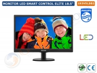 "MONITOR PHIPLIPS LED SMART CONTROL ELITE 18.5"" 16:9"