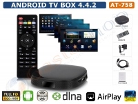 TV BOX ANDROID 4.4.2 QUAD COR CORTEX A5 FULL HD 1080P HDMI WIFI USB