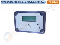CALIBRATORE PER BARRIERE A MICROONDE WHITE BEAM