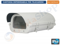 CUSTODIA STAGNA PER TELECAMERA HOUSING BOX CCTV
