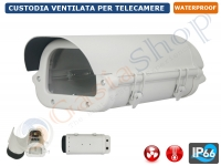 CUSTODIA STAGNA VENTILATA PER TELECAMERA HOUSING BOX CCTV