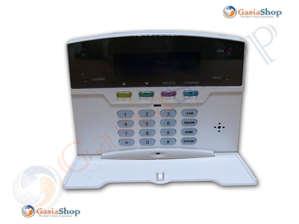 CENTRALE ANTIFURTO ALLARME DOMOTICA GSM TCP-IP GPRS LAN WEB APP WIRELESS E CABLATA 868 MHZ
