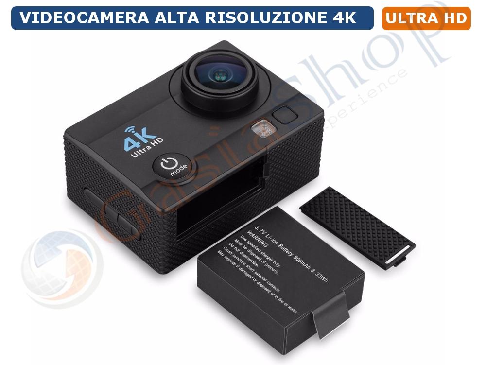 Action Camera Subacquea : Action cam full hd con display lcd e custodia subacquea trevi go