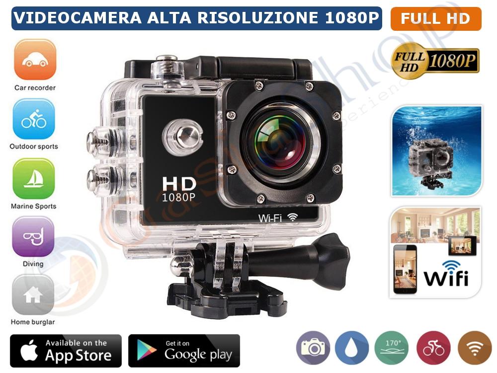 Action Camera Subacquea : Pro cam p megapixel sport wifi action camera ultra hd mp