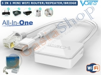 ALL IN ONE 3 IN 1 MINI WIFI ROUTER REAPETER BRIDGE
