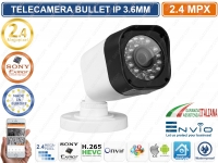 TELECAMERA IP BULLET 2 MP 1080P SONY IMX323 3.6MM IR LED ONVIF IP66 CLOUD XMEYE